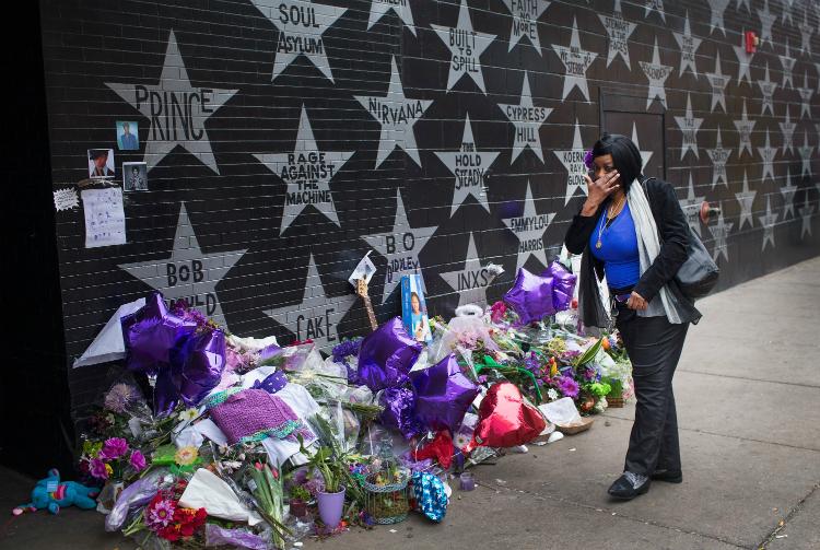 homenaje a Prince en Minneapolis