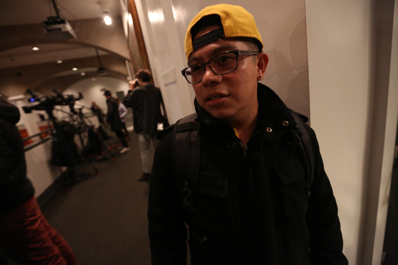 El mexicano Juan Tapia confesó estar preocupado con la información del IDNYC.
