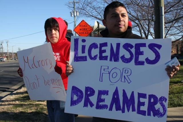 En Carolina del Norte también ha sido constante la lucha de los Dreamers. Foto EFE