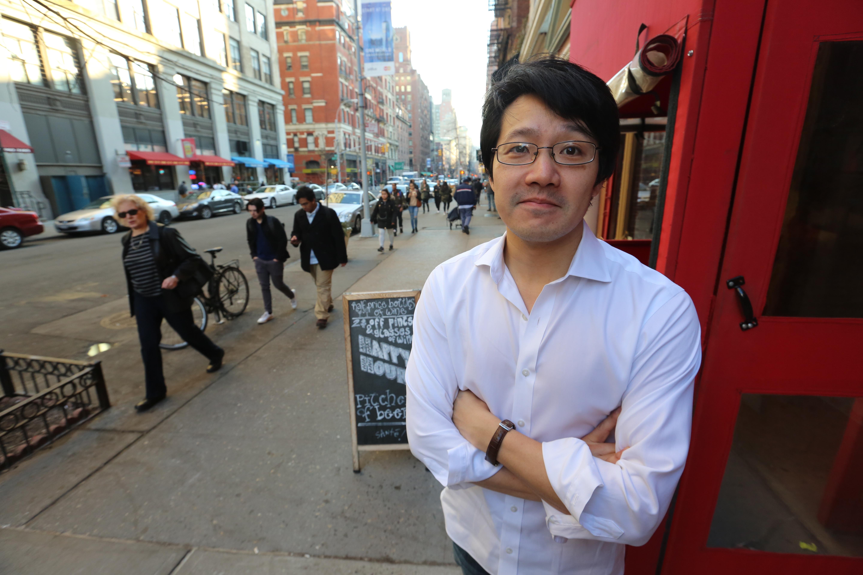 El creador de Queens Night Market John Wang. Manhattan.