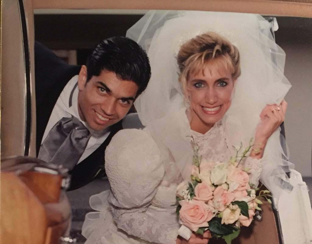Lili Estefan y Lorenzo Luaces se casaron en el 1992.