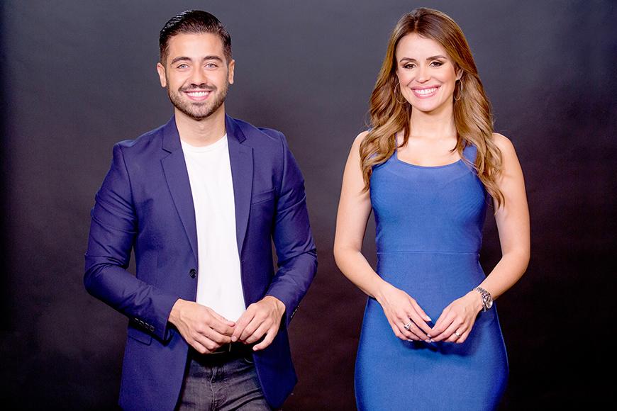 Borja Voces y Carolina Sarassa