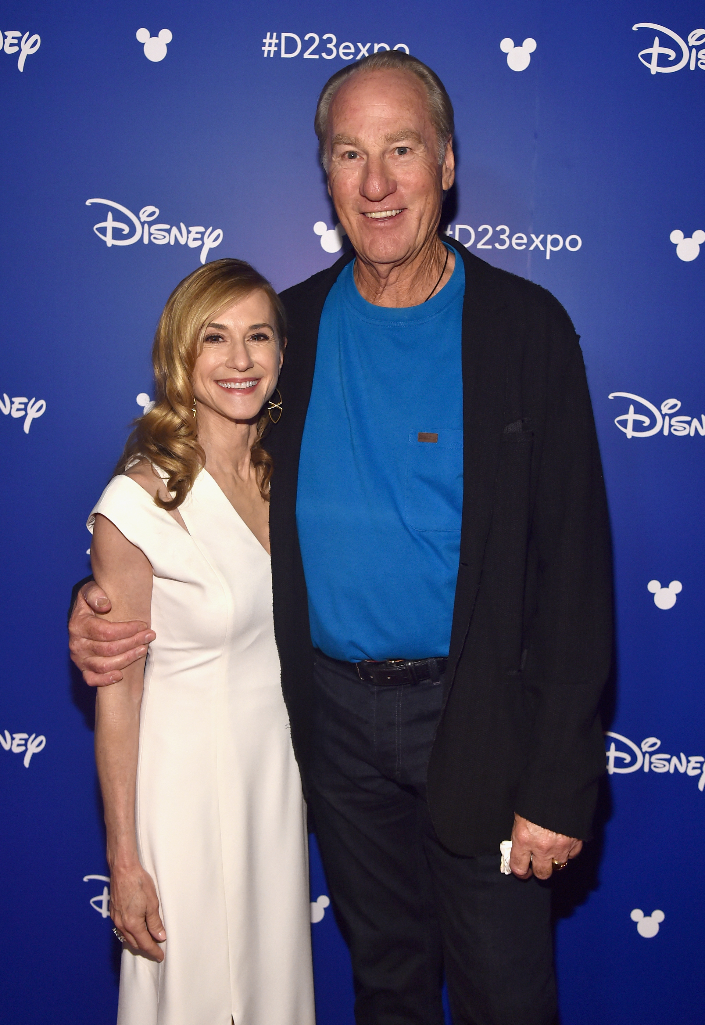 Holly Hunter y Craig T. Nelson. / Foto: Getty Images for Disney