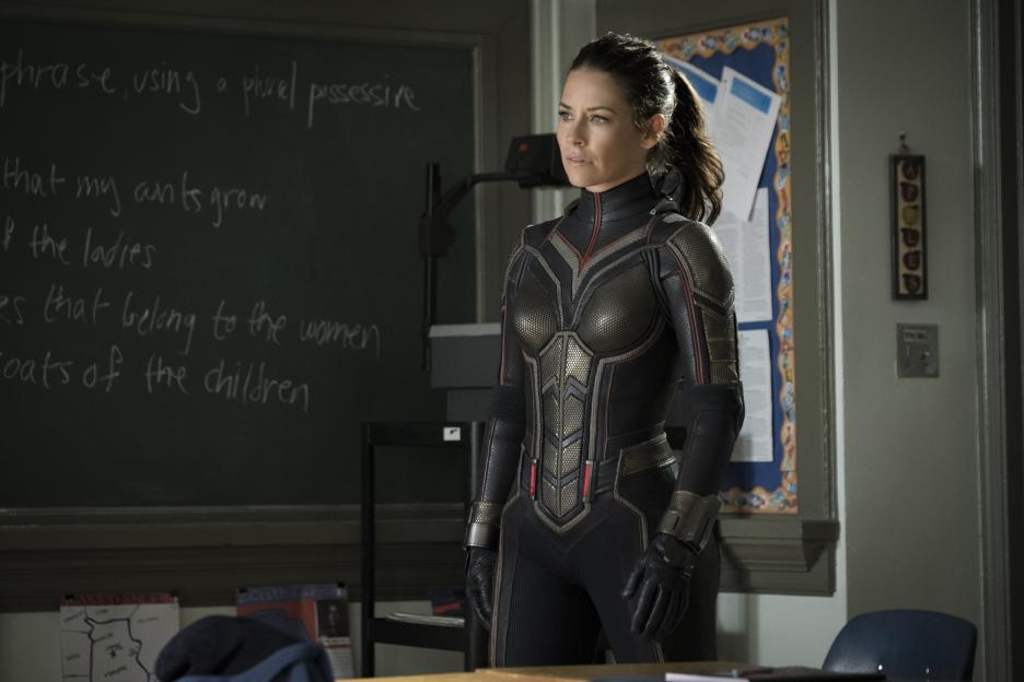 Evangeline Lilly como The Wasp.