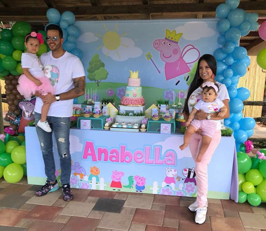 El Chef Yisus le festejó el cumple a su hija mayor
