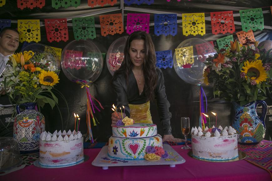 Kate del Castillo festejó sus 46 años