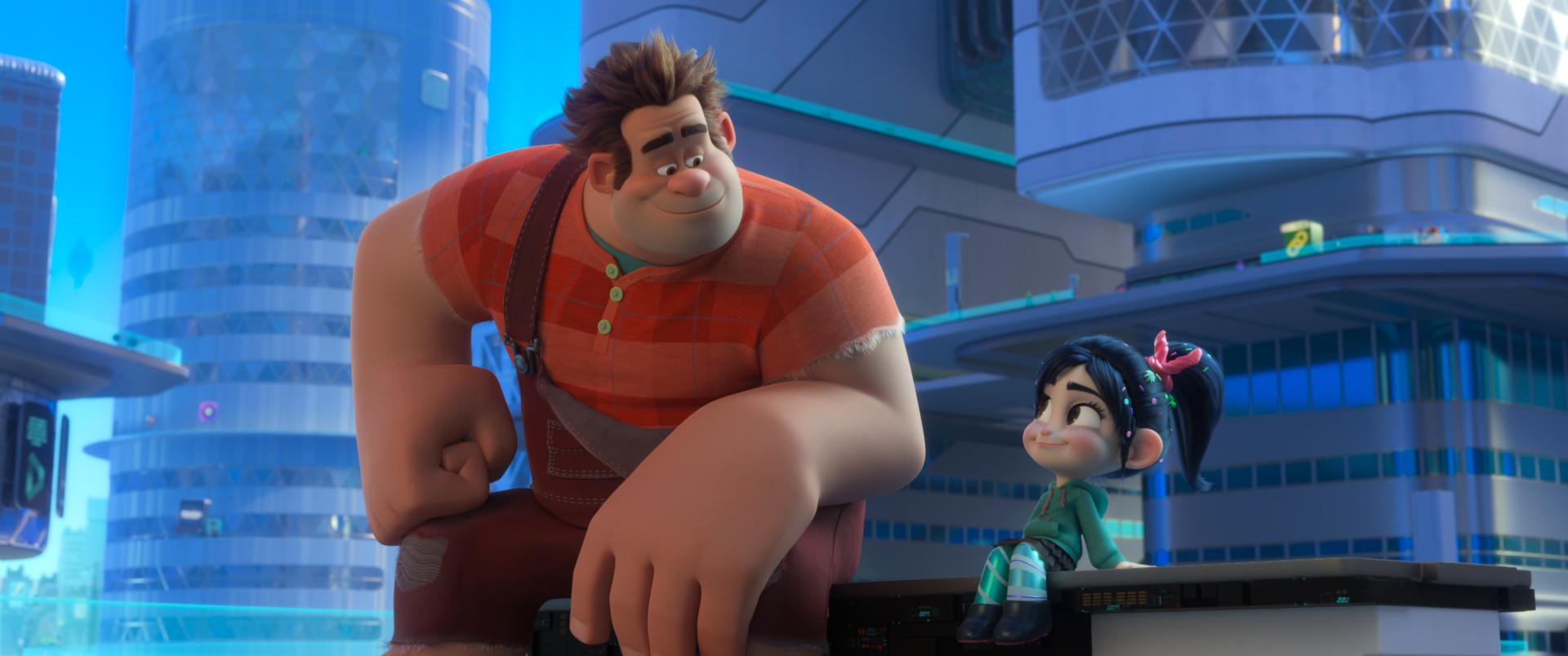 La amistad entre Ralph y Vanellope se verá puesta a prueba en su aventura por Internet. / Foto: Disney