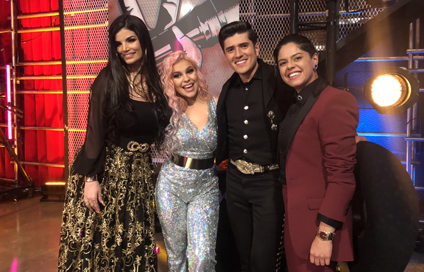 Este es el Team Alejandra Guzmán