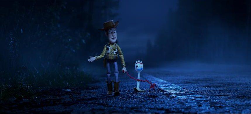 Woody y Forky. / Foto: Pixar