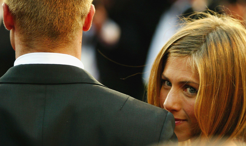 Brad Pitt y Jennifer Aniston.