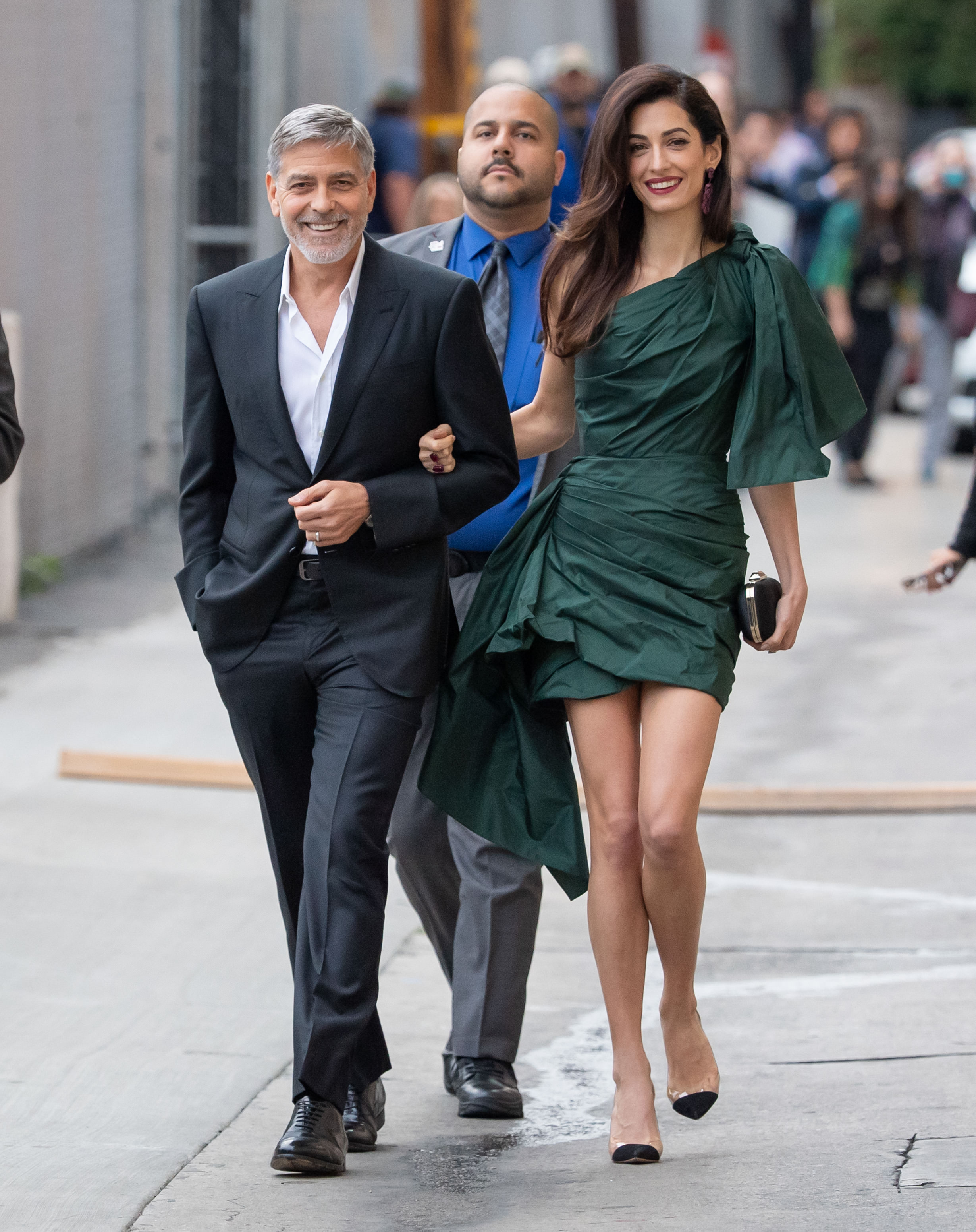 George Clooney junto s Amal Clooney/The Grosby Group.