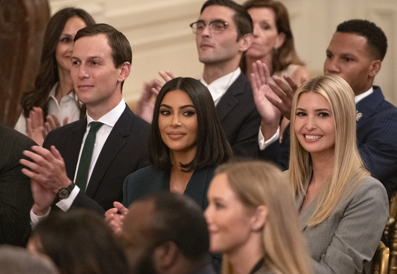 Kim Kardashian e Ivanka Trump.
