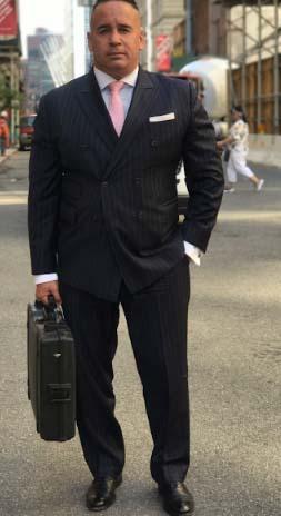Manuel Gomez, investigador privado de pandillas y otros en Nueva York