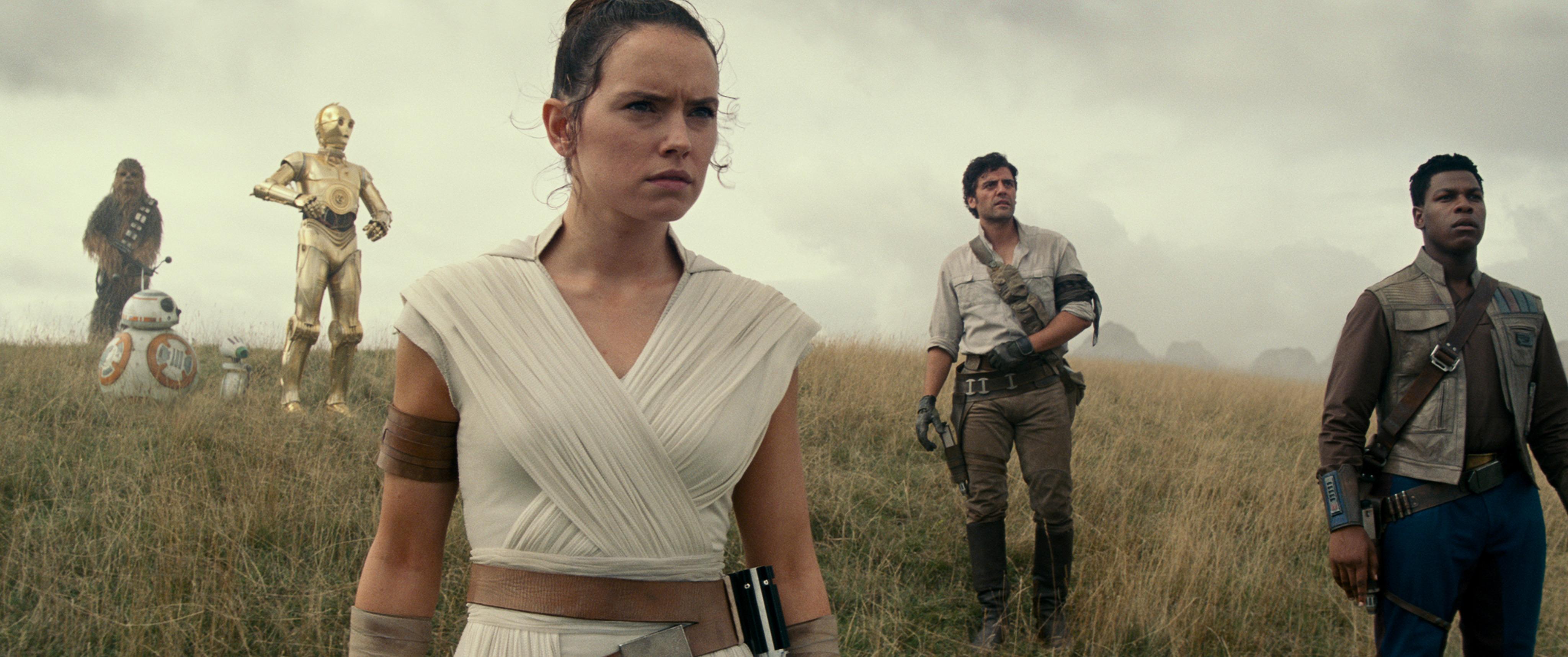 El grupo de protagonistas comparte más tiempo juntos en la última entrega de Star Wars.