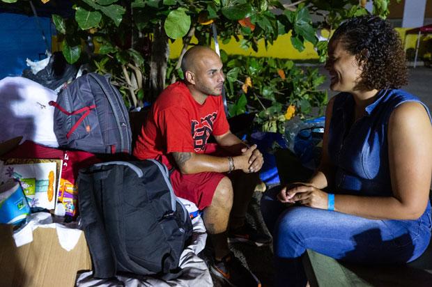 Refugiados por sismos en Puerto Rico
