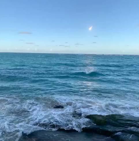 Meteoro en Puerto Rico