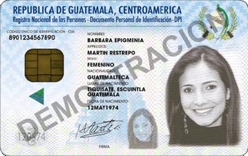 Documento Personal de Identificación (DPI) de Guatemala ahora puede conseguirse en consulados.