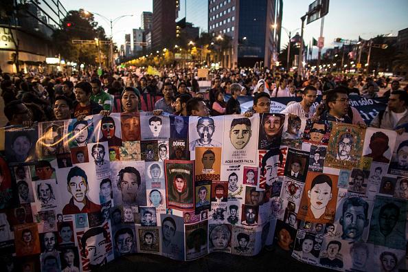 La demanda de justicia justicia en el caso de Ayotzinapa no cesa.