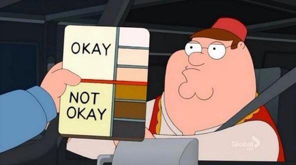 peter griffin color cops