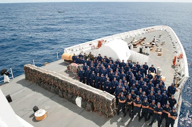 US agencies stop semi-submersible, seize 12,000 pounds of cocaine