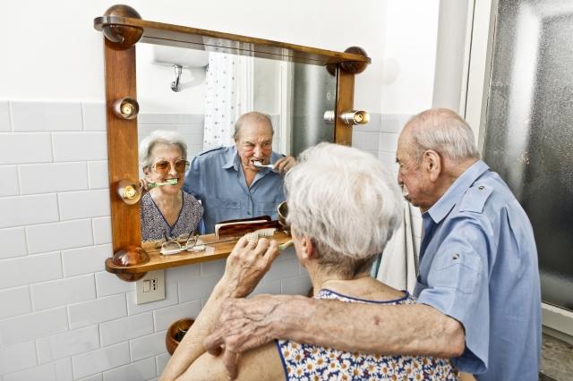 Los mayores de 55 años años son un enorme porcentaje de la población.