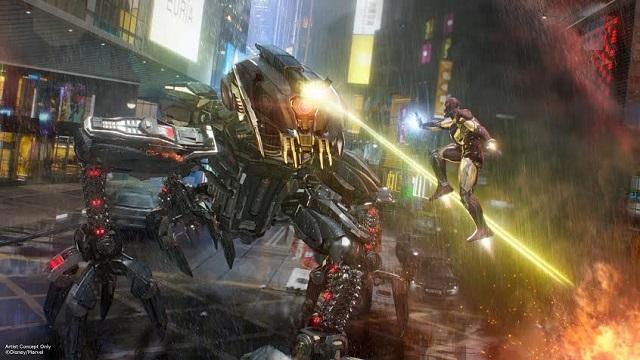 "La película ""Iron Man"" tendrá un lugar especial en Hong Kong Disneyland."