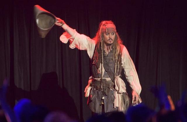"""Johnny Depp confirmó más detalles de la nueva saga de """"Pirates of the Caribbean"""""""