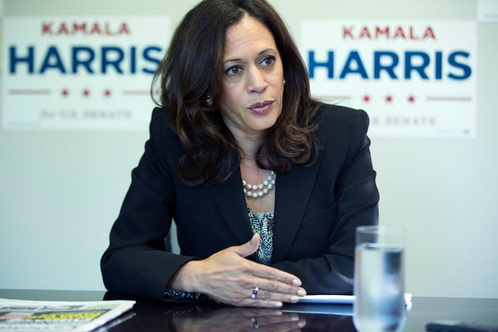 Kamala Harris lidera las encuestas para reemplazar a la senadora Barbara Boxer en 2016.