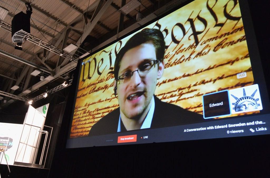 A Virtual Conversation With Edward Snowden - 2014 SXSW Music, Film + Interactive Festival