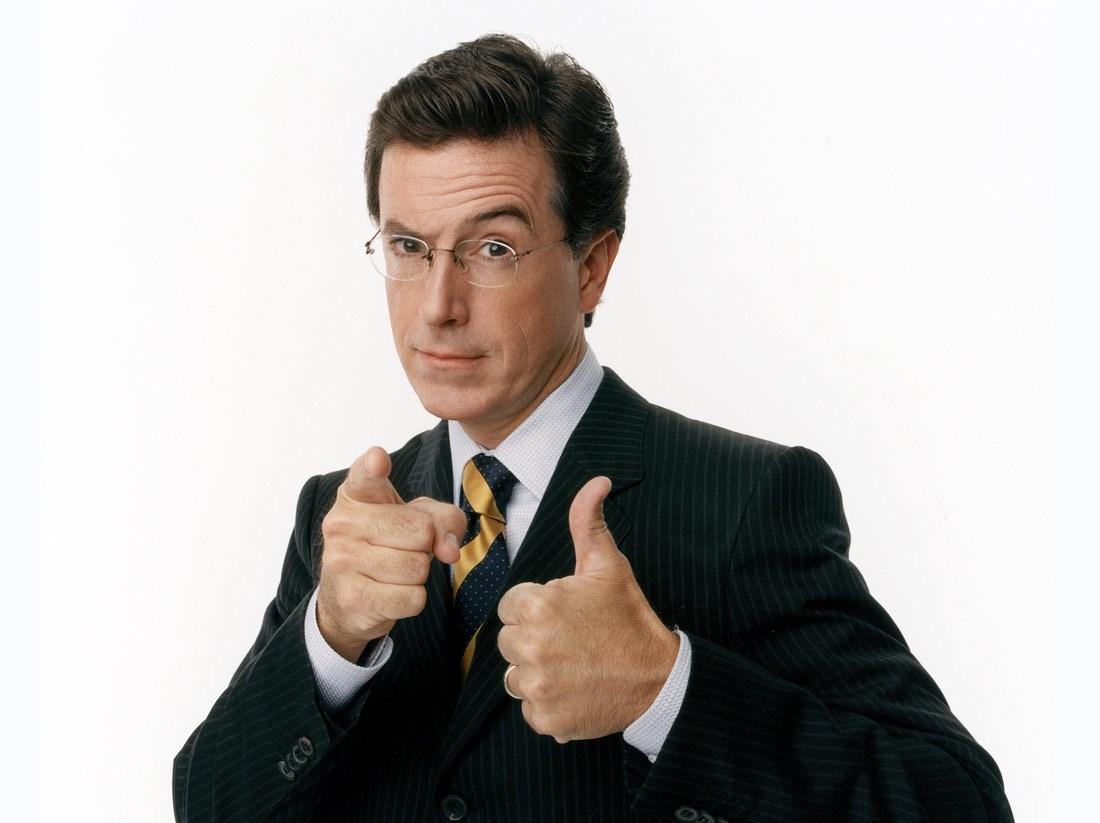 Stephen Colbert, a partir de este martes, ocupa una posición privilegiada en las noches televisivas.