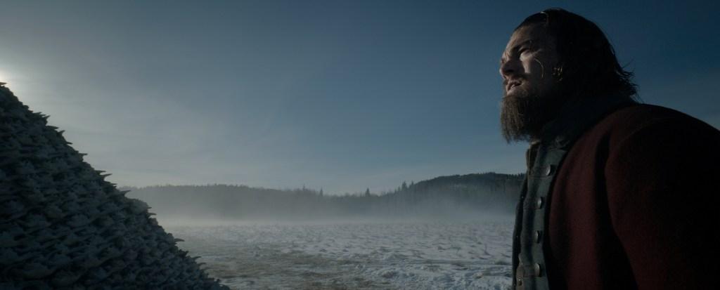 Las estrellas del filme son Leonardo DiCaprio, en la imagen, y Tom Hardy.