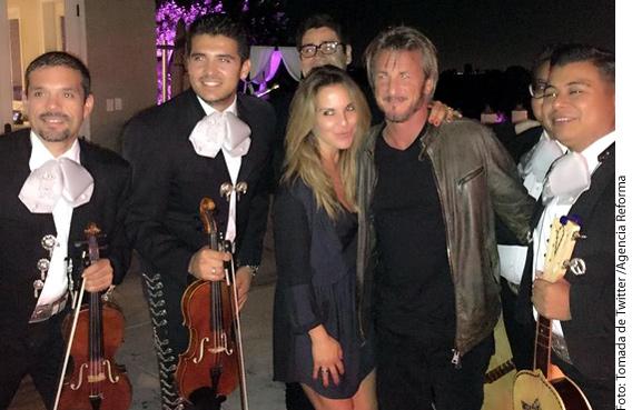 Kate y Sean coincidieron en México, previo a una fiesta con amigos.