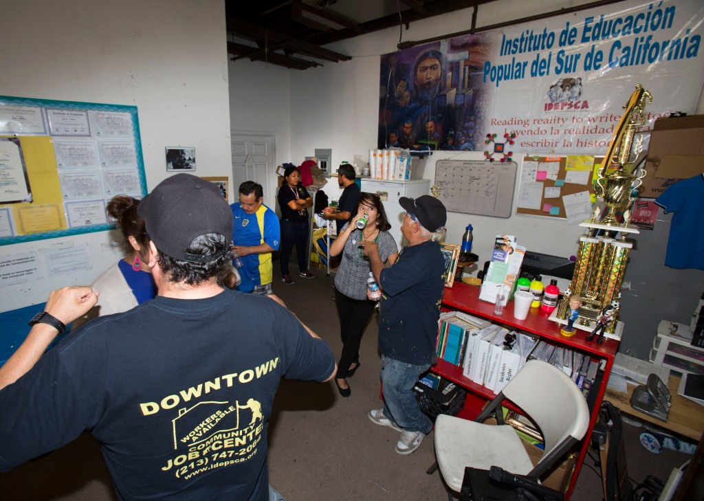 DOWNTOWN JOB CENTER IS INAUGURATED