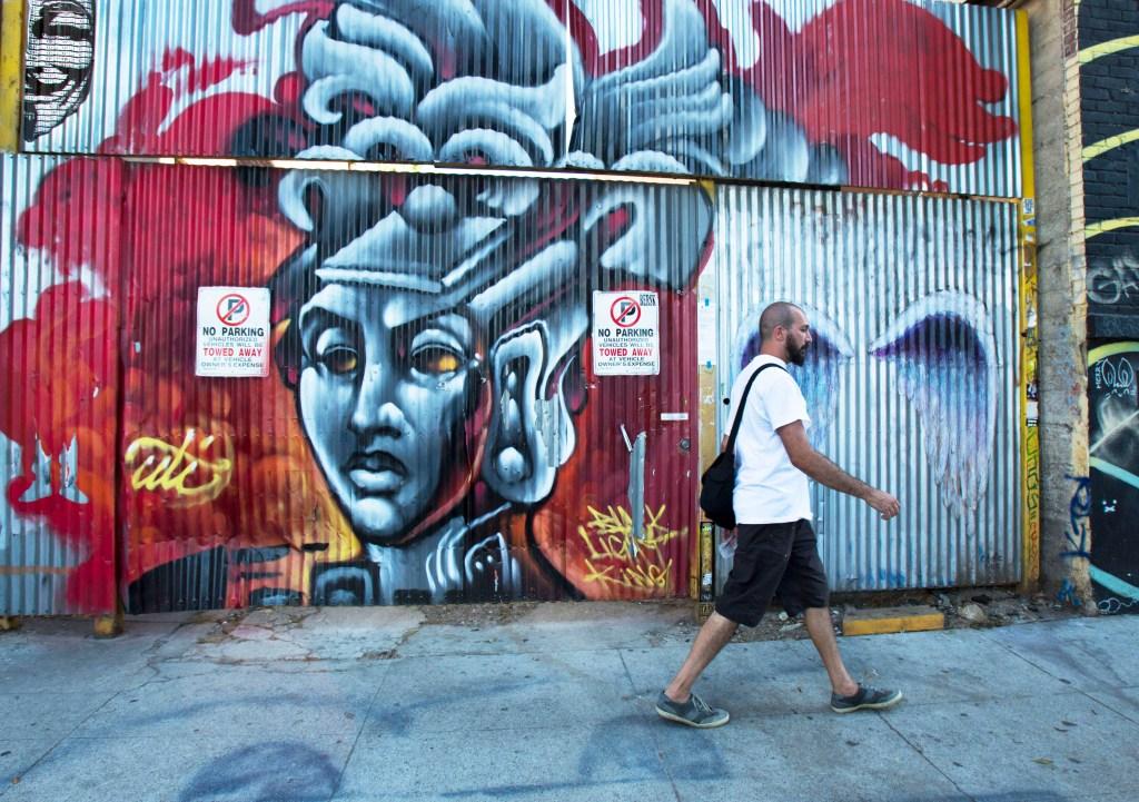 El Distrito de Arte en Los Ángeles.