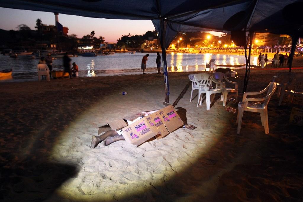 Pese al impacto en el turismo, las playas siguen llenandose en Verano, aseguran. /Getty