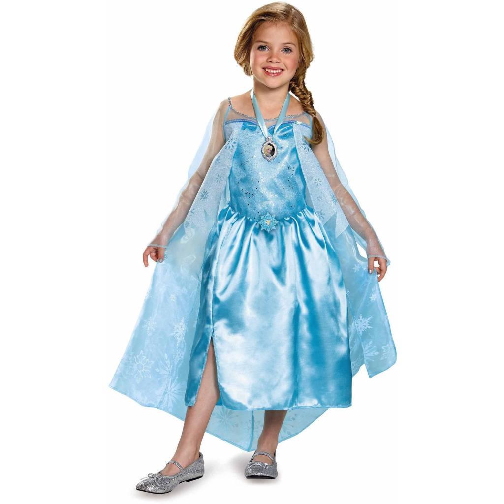 El disfraz de Elsa, del personaje protagonista de la película 'Frozen' de Disney, está entre los preferidos de este año.