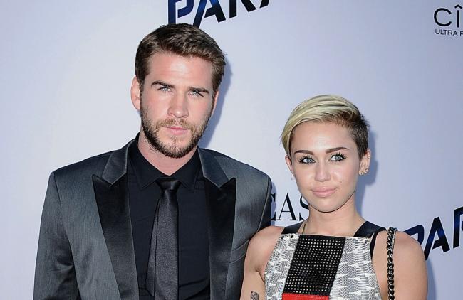 Miley Cyrus y Liam Hemsworth solo quieren ser buenos amigos