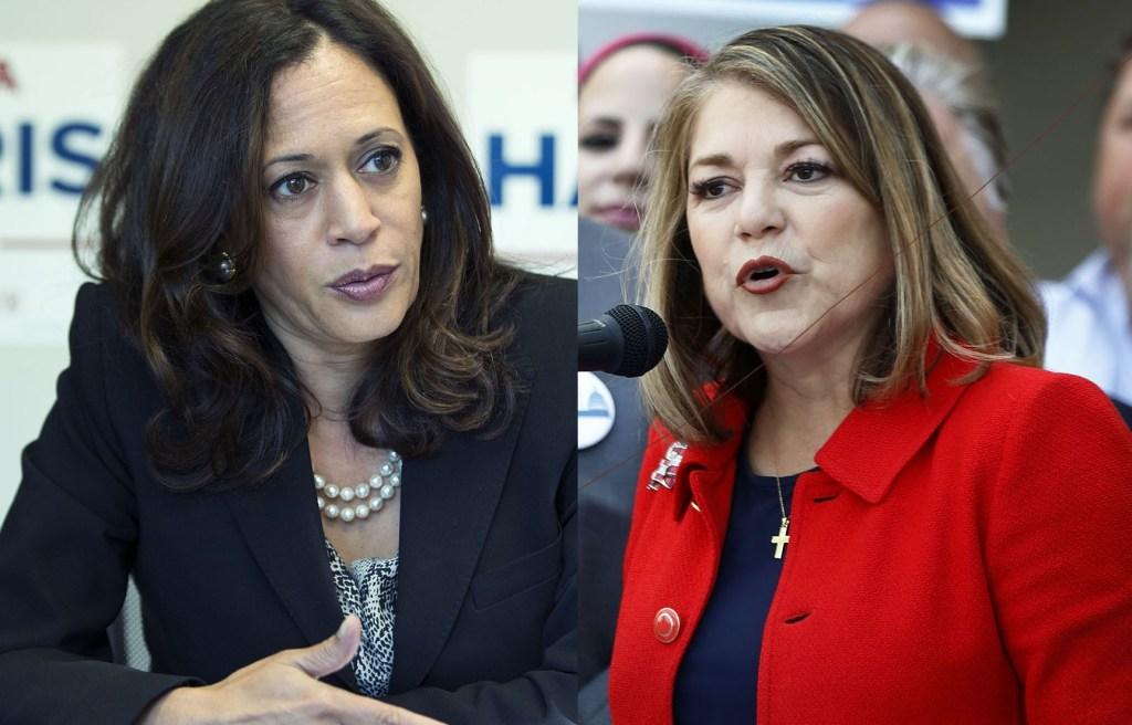 Ambas mujeres se pisan los talones para llegar al escaño del Senado Nacional.