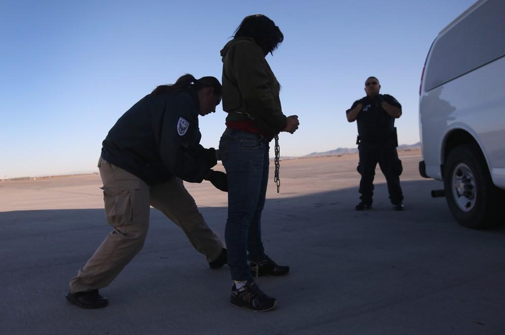 Las detenidas pasan meses en espera de recibir asilo o ser deportadas.