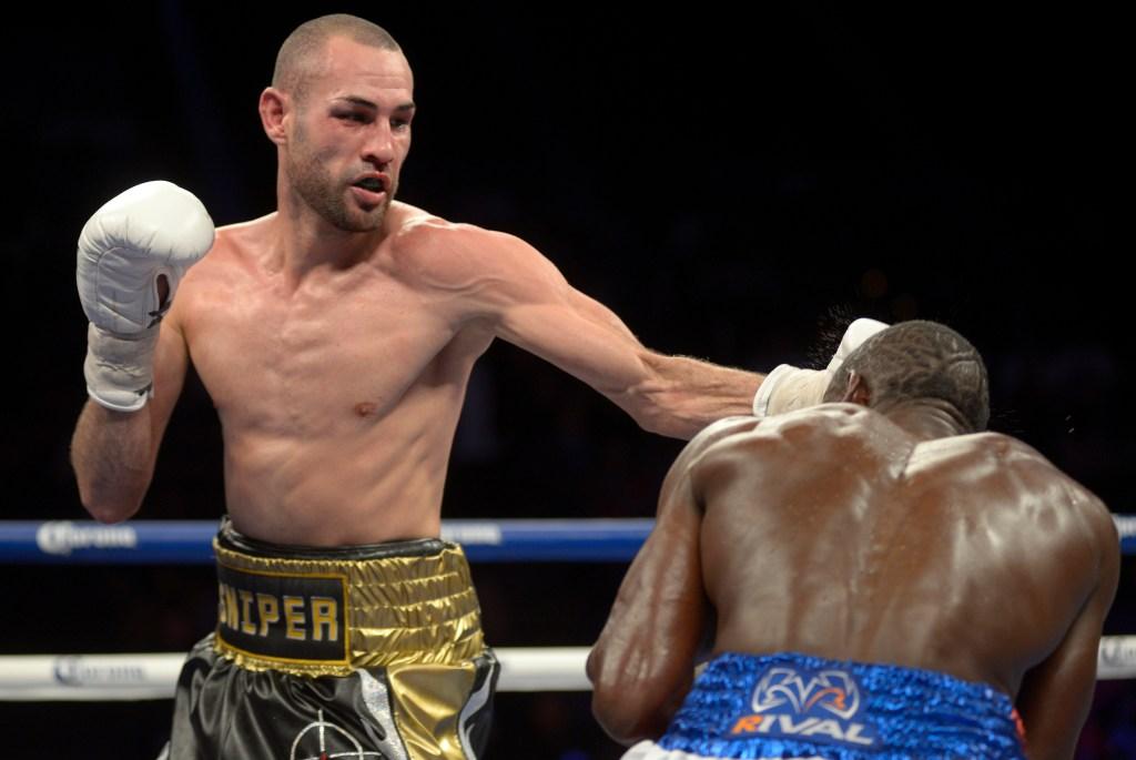 Jose Pedraza contra Edner Cherry.
