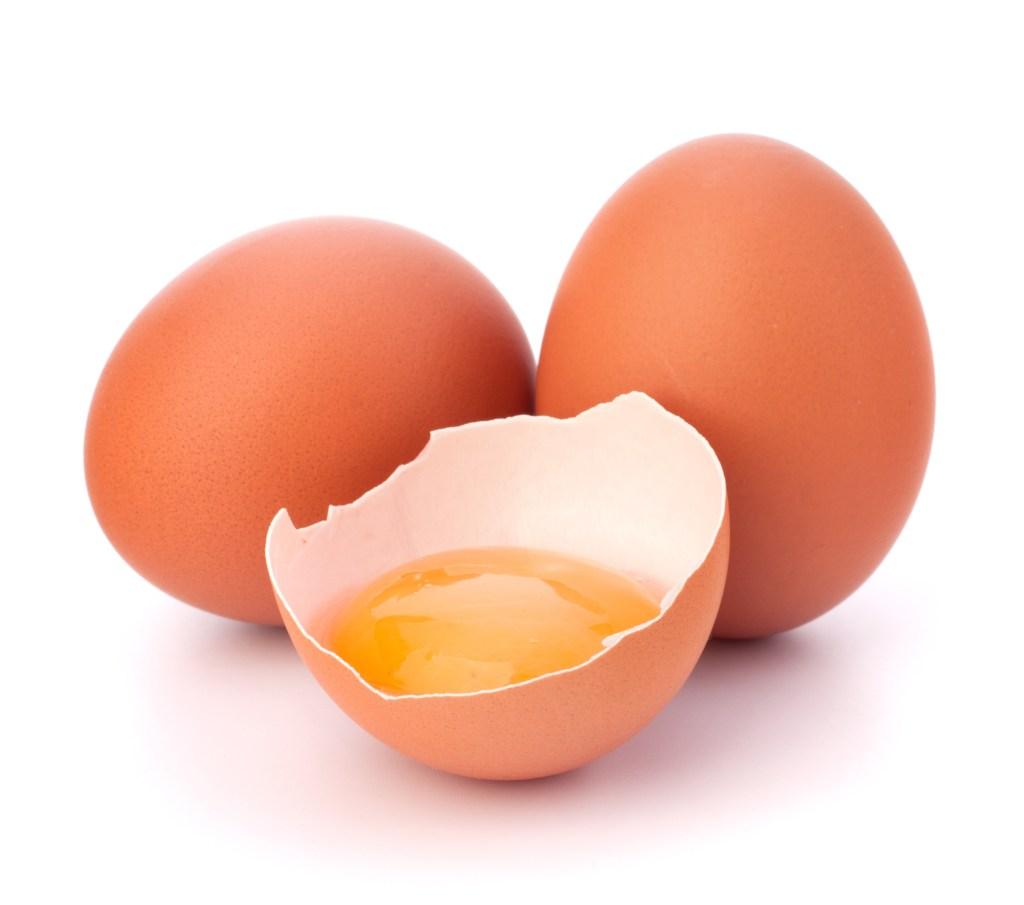 La clara de huevo es pura proteína.