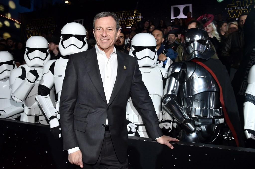 Bob Iger, el principal dirigente de Walt Disney Company, responsable de la adquicisión de Lucasfilm.