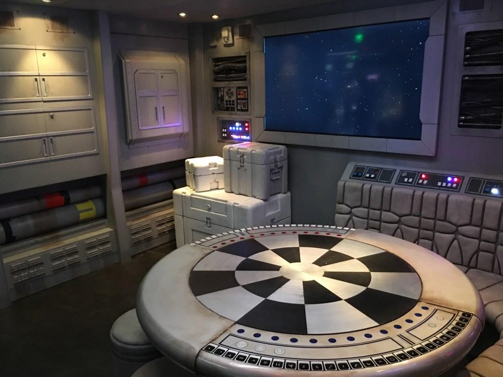 'Star Wars: Millennium Falcon' forma parte del área de juegos para los más jóvenes.