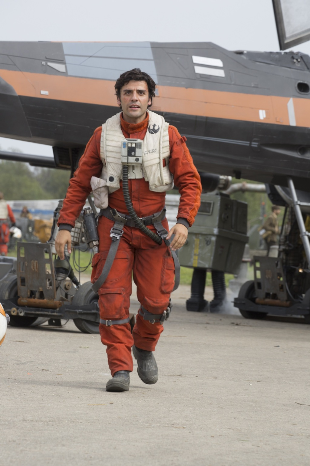 Óscar Isaac es Poe Dameron, piloto de la Resistencia, en 'The Force Awakens'.
