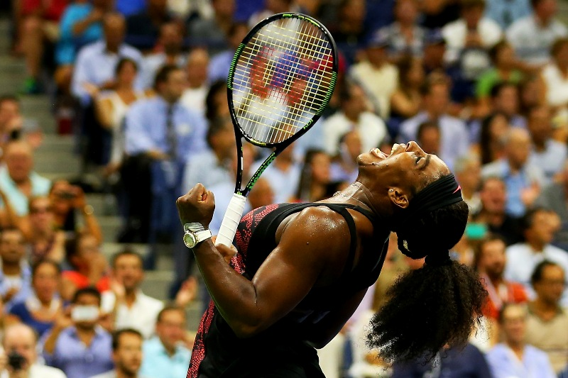 Serena: the power.