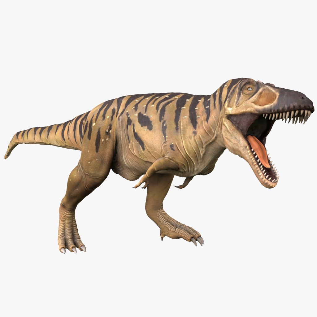 Aspecto de lo que era un Tarbosaurus.