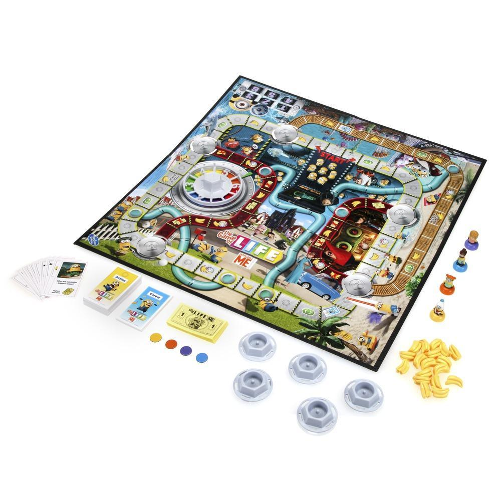 The Game of Life Minions Edition Game.
