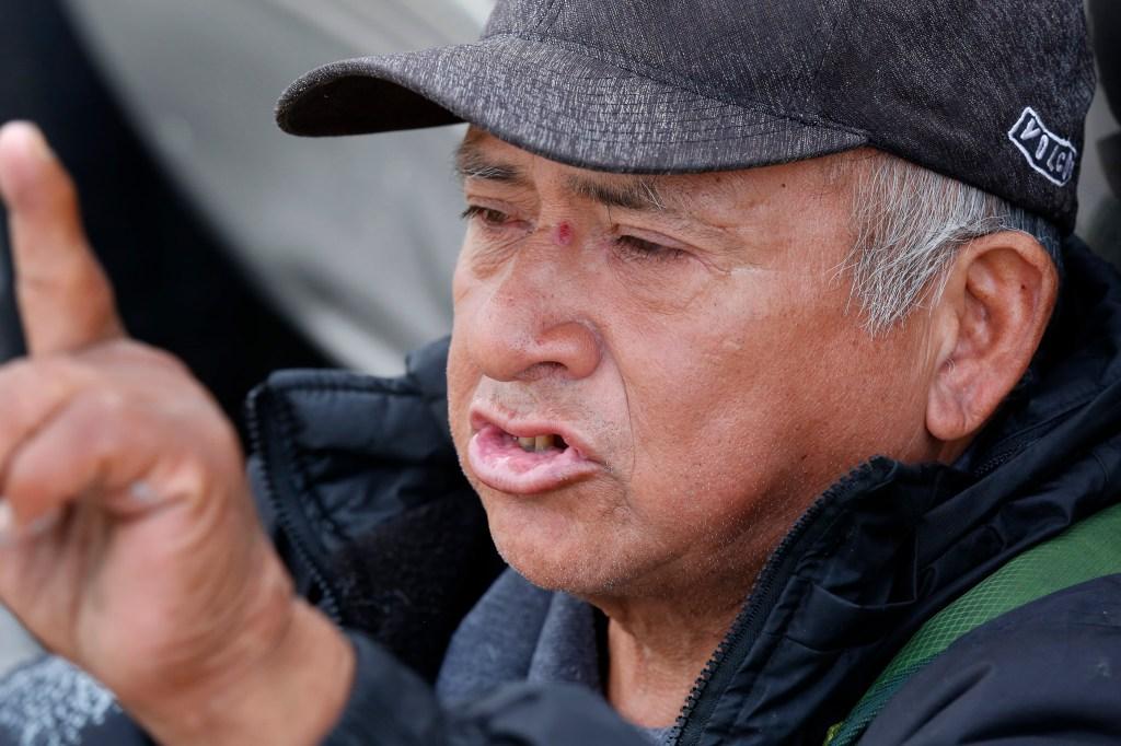 Guillermo Medina Chavez dice que lo único que los desamparados necesitan es un empleo. (Aurelia Ventura/La Opinión).