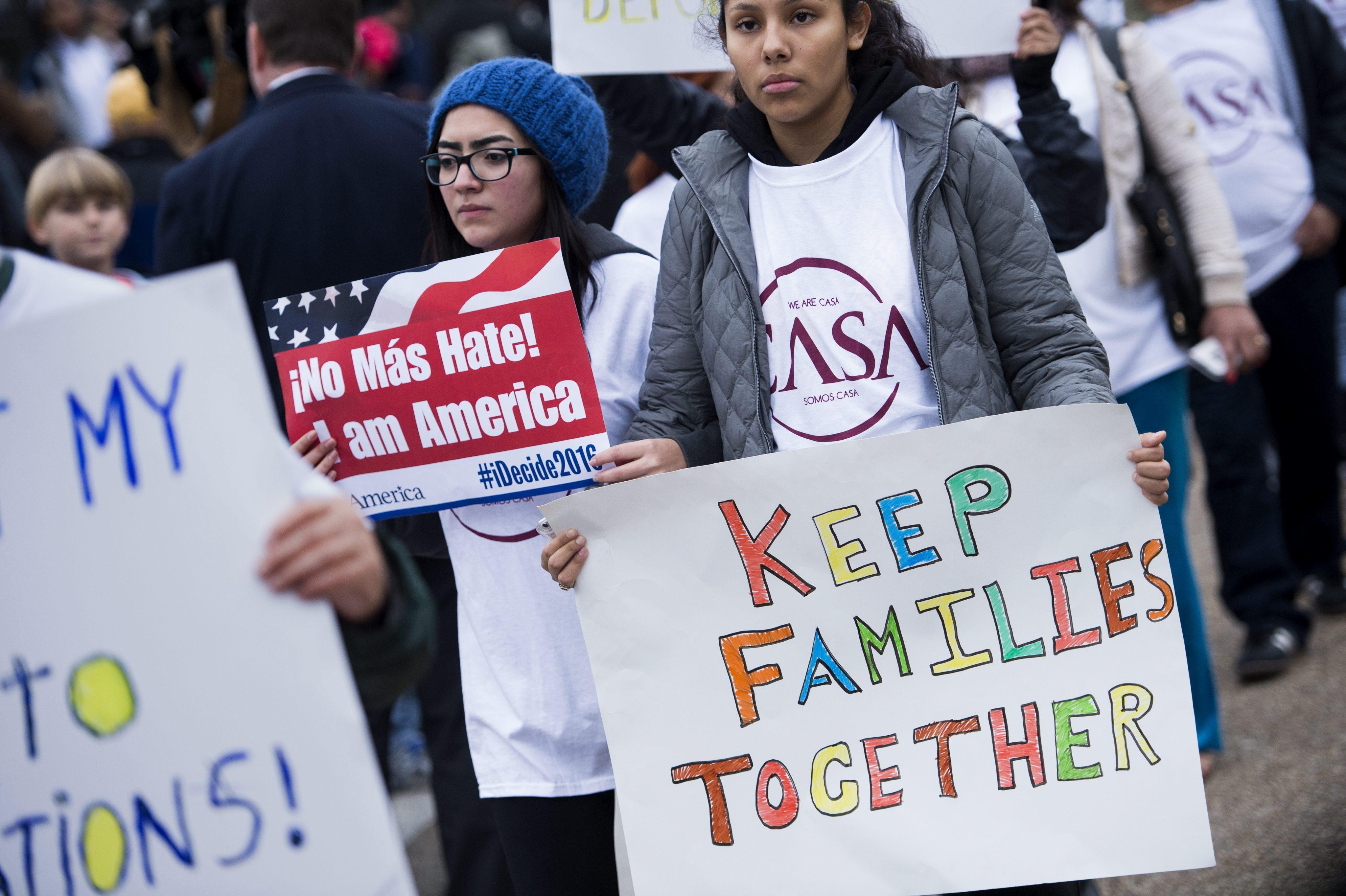 Durante años el movimiento proinmigrante ha protestado las detenciones obligatorias, las deportaciones y separaciones de familias.