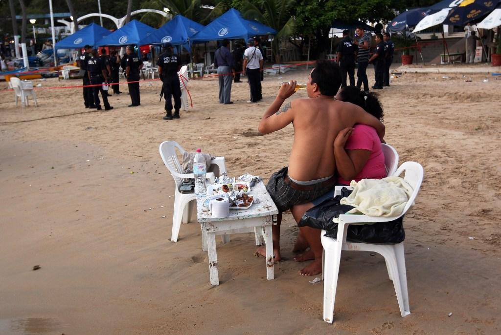 El turismo internacional ha bajado estrepitosamente en Acapulco, una ciudad donde el 70% de los ingresos vienen de este rubro. /Getty